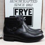 Кожаные мужские ботинки FRYE stone crosstrap, размер 44 - 44.5 челси