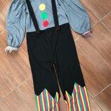 Клоун Зомби 7-8 лет костюм