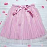 Юбка фатиновая, юбка фатин,юбка плисерованная