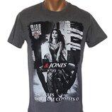 Мужская серая футболка - 5345
