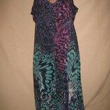 Длинное шифоновое платье Soon р-р20