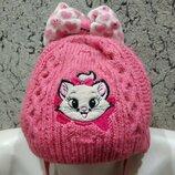 Очень красивая Зимняя шапочка