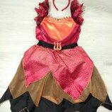 Карнавальный костюм для Хеллоуин. Маскарадное платье чертёнка.