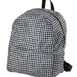 Рюкзак черно белый Швеция
