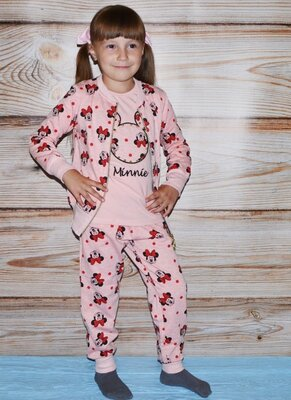 Акция Теплый костюм на девочку 3-ка, с начесом, супер качество Турция