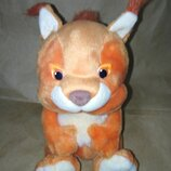 Белка, плюшевая игрушка поющая на русском языке. Подарок для ребёнка.