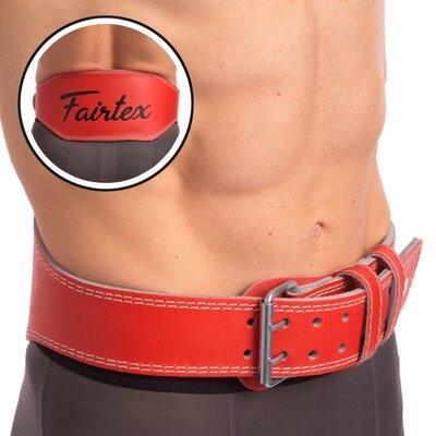 Пояс для пауэрлифтинга кожаный Fairtex 167076 пояс атлетический размер S-XL
