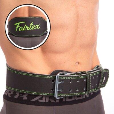 Пояс для пауэрлифтинга кожаный Fairtex 165103 пояс атлетический размер S-XL