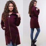 Кашемировое пальто новинка цвета