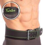 Пояс для пауэрлифтинга кожаный Fairtex 167075 пояс атлетический размер S-XL
