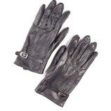 Шикарные кожаные перчатки EEM.