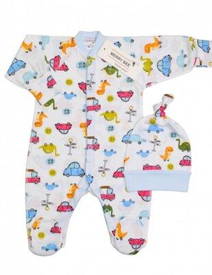 Человечек для новорожденных мальчиков Dino, Мерри Би