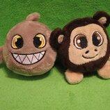 Рыбка.обезьяна.мавпа.риба.мячик.мягкая игрушка.мягка іграшка.мягкие игрушки.Nature Planet