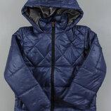 Демисезонная куртка на флисовой подкладке Венгрия Размеры 104,110,116,122