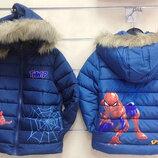 Куртка Spider Man для мальчика Венгрия Размеры 98/104,110/116,122/128,134