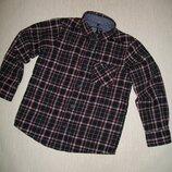 Коттоновая рубашка в клеточку