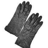 Кожаные перчатки H&M.