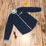 Фирменная рубашка rebel для мальчика 12-13 лет, 152-158 см