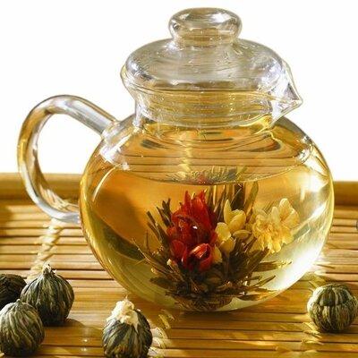 Продано: Китайский цветочный связанный чай. Набор 16 шт разных видов чая.