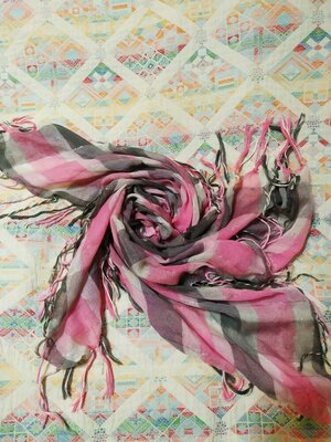 Легкий воздушный платок арафатка шейный платок