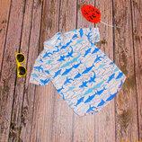 Фирменная тенниска m&co для мальчика 4-5 лет, 104-110 см