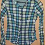 Рубашка в клетку Ostin studio XS