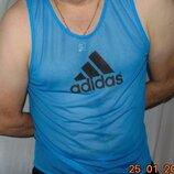 Стильная фирменная спортивная майка Adidas Адидас .л .