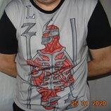 Стильная фирменная футболка Lanzans .usa. л-хл.