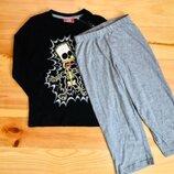 Хлопковая пижама The Simpsons на рост 98-104 см