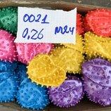 Мячики ёжики разного диаметра для малышей