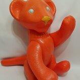 целлулоидная игрушка кукла клеймо Ссср , целлулоид лев львенок 35 см.