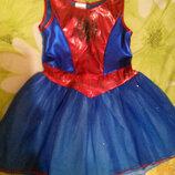 Карнавальный костюм Подруга Спайдермена для девочки 5 лет размер 30