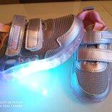 Кроссовки Clibee LED 26-31