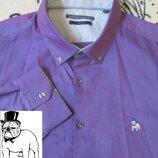 Шикарная рубашка с длинным рукавом the spitalfields shirt co/красивый цвет