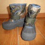Зимние сапожки, ботинки Next, стелька 16-16,5 см