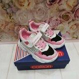 Модные розовые кроссовки на девочку, весна 31-35