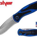 Складной нож от компании Kershaw. Модель Blur Navy Blue 1670NBSW. Оригинал