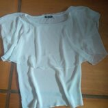 Воздушная блуза цвета айвори
