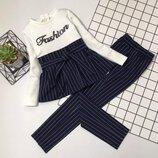 Мега крутой комплект кофта и брюки для стильных девчонок