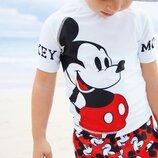 Комплект из майки и шортов Mickey Mouse 3 мес.-8 лет