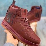 Ботинки зимние Nike Air Force Red