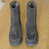 Чоботи зимові замшеві 9 1/2 на 43 розмір стелька 28,4 см Elgg
