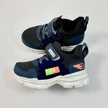 Кроссовки-Носок для мальчика OFF серый р.27,28,29,30,31,32