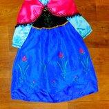 платье анна 3-4 года Disney 104 размер новогоднее карнавальное