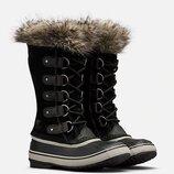 Зимние сапоги кожа замша канадского бренда Sorel Joan of Arctic Оригинал