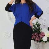 Платье разные цвета 48-50, 52-54, 56-58 размер - 63385