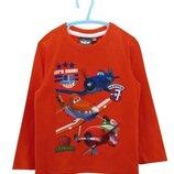 Оранжевый реглан Disney / Planes Летачки для мальчика р.98 на 3 года