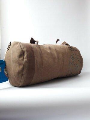 Вместительная сумка-рюкзак, дорожная сумка, брезент
