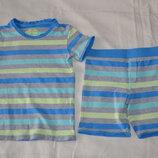 Пижама хлопок M&S р.104-110