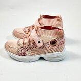 Кроссовки-Носки для девочки MOBI р.32,33,34,35,36,37